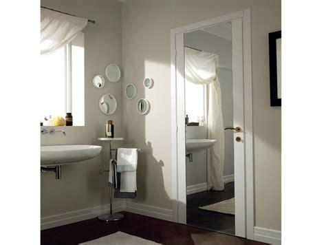 porta a specchio porta a battente in vetro a specchio mirabilia porta in