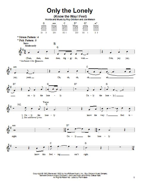 download mp3 song feel lonely only the lonely know the way i feel sheet music direct