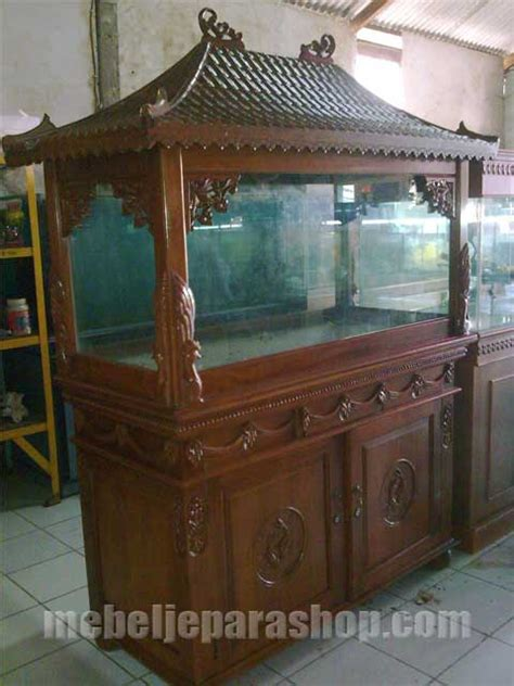 lemari aquarium ukir mjs furniture