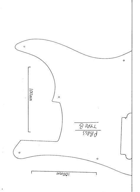 strat template 28 images stratocaster mdf guitar and