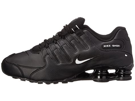 Nike Shock Black nike shox nz eu in black black white black lyst
