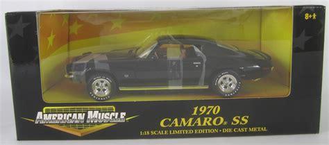 1969 Chevrolet Camaro Tuxedo Black Ertl 1 18 Evergreen Toys 1 Of 2200 archive 1 18 camaro arizona diecast models