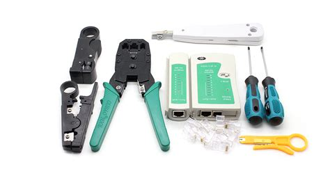 network tools 27 94 wl 11pc multifunctional 11 in 1 network tool kit at