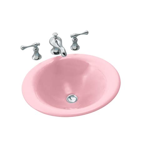 Pink Bathroom Sink by Kohler Cast Iron Vessel Sink In Pink Turquoise From