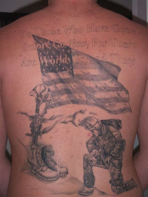 tattoo gallery military usa patriotic military full back tattoo tattooimages biz