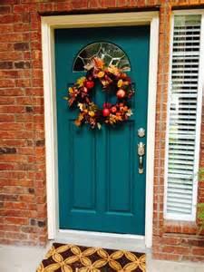 teal front door colors best 25 teal door ideas on