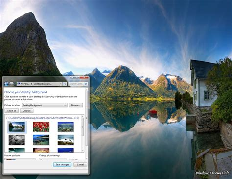 themes for windows 7 awesome awesome nature windows 7 theme download
