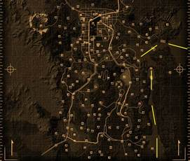 Map Of Fallout New Vegas by Fallout New Vegas Maps The Fallout Wiki Fallout New