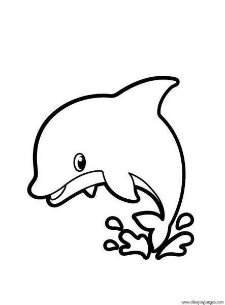 como imprimir imagenes blanco y negro imagenes dibujos de delfin delfines pinterest