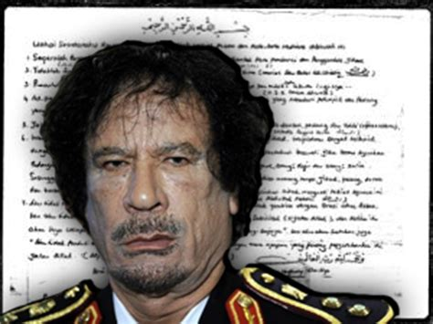 sensasi wasiat terakhir muammar gaddafi