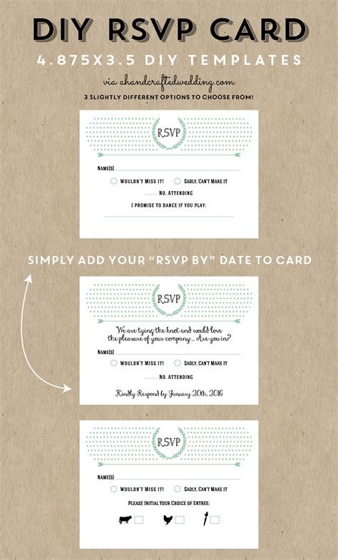 diy response cards template diy postcard rsvp cards diy fretboard