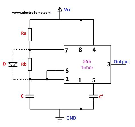 555 timer ic datasheet wiring diagrams wiring diagram