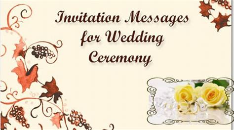 my wedding invitation msg invitation messages for wedding sle wedding invitation