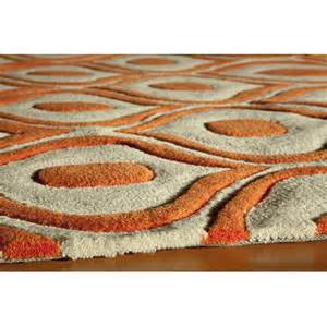 Orange Area Rug 8x10 Momeni Bliss Orange Area Rug Reviews Wayfair