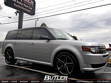 ford flex 20 inch wheels ford flex with 20in tsw rivage wheels exclusively from