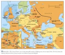 World War 1 Map by Pics Photos World War 1 Map 1914