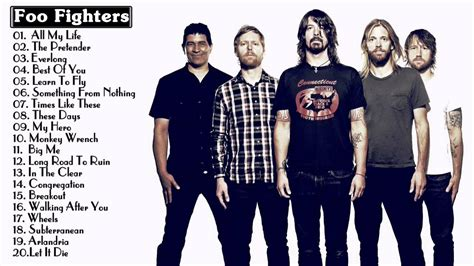 best foo fighters song best of foo fighters foo fighters greatest hits