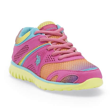rainbow athletic shoes fila toddler velcro white athletic shoe sears