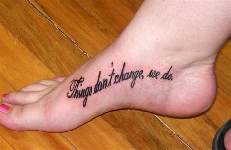 foot tattoo quotes foot designs for quotes quotesgram