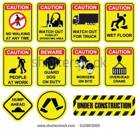 Yellow Sticker Earthquake Meaning safety signs stock images royalty free images vectors