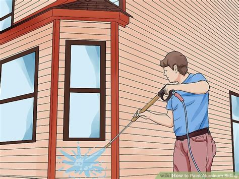 how to paint metal siding on a house how to paint aluminum siding 12 steps with pictures wikihow