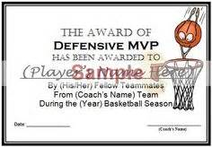 Basketball Mvp Certificate Template by 7 Best Images Of Basketball Mvp Certificate Template