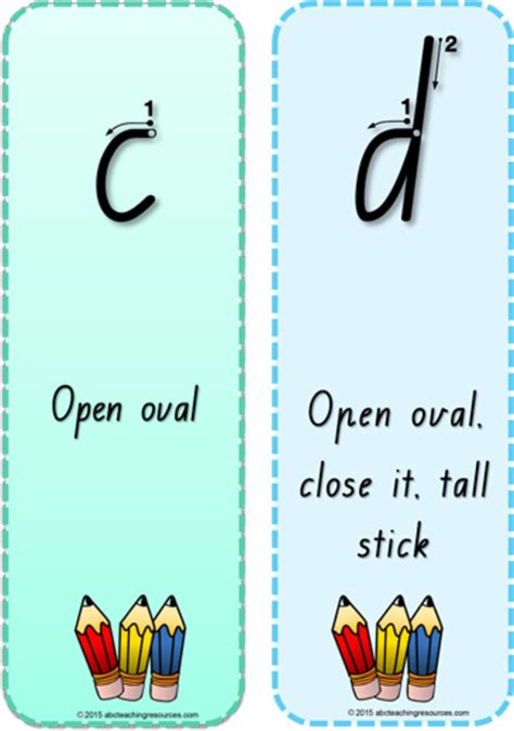 alphabet flash cards nsw font printable handwriting terminology bookmark letters nsw nz print