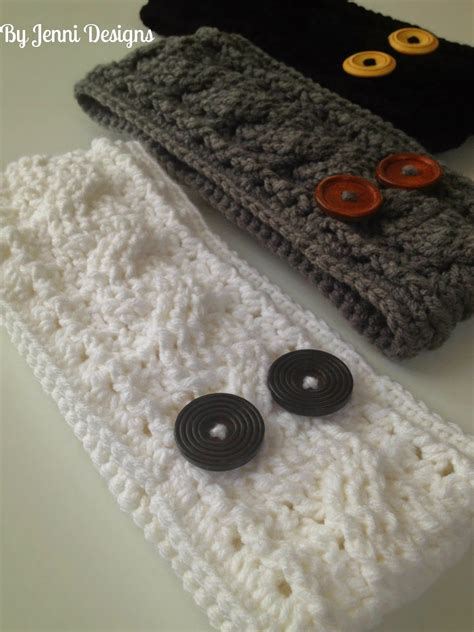 1000 images about crocheted ear warmers headbands on