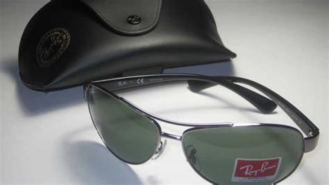 ray ban rb   gunmetal sunglasses youtube