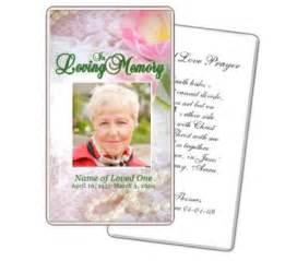 funeral card templates free 5 best images of free printable memorial cards free