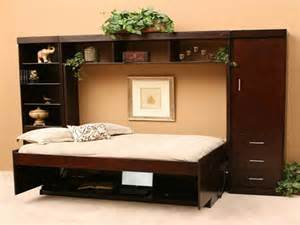 Cool Murphy Bed Designs Bloombety Cool Designs Murphy Bed With Ornamental Plants