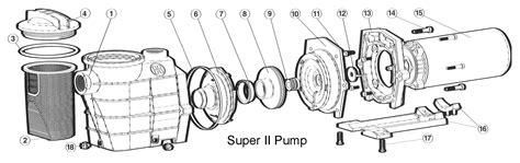 hayward 2 parts diagram free shipping on hayward ii pool parts