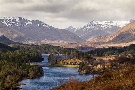 glen affric csites in scotland for motorhomes motorhome escapes