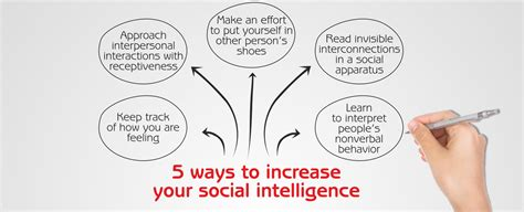 10 Ways To Improve Your Social by 5 Ways To Increase Your Social Intelligence Socialigence