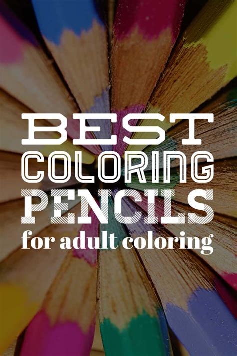 best colored pencils for coloring books for adults best coloring pencils for coloring books
