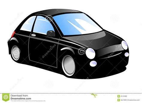 small cars black small black car stock illustration illustration of