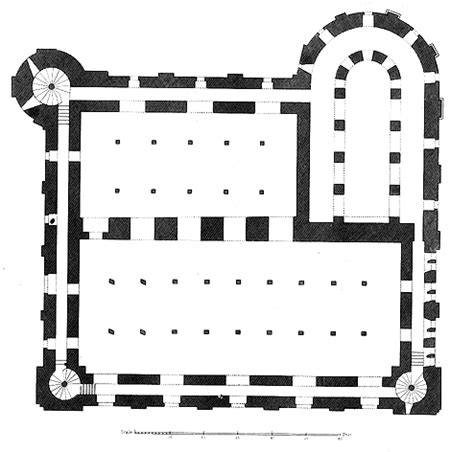 White Tower Floor Plan | medieval london architecture of the white tower