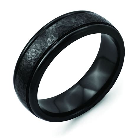 Wedding Bands Black by The Benefits Of Choosing Titanium Mens Wedding Bands