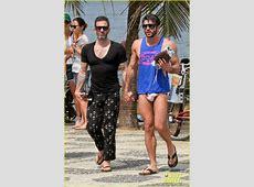 Marc Jacobs & Harry Louis: Shirtless Speedo PDA in Rio ... Jonathan Bennett Boyfriend