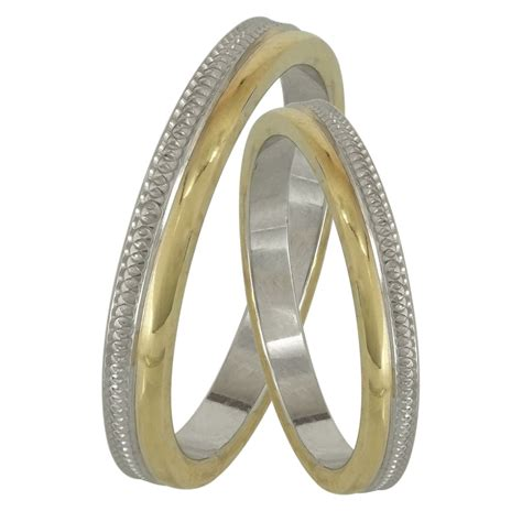 Bicolor Ring by Bicolor Wedding Ring Wr184d Wedding Rings Gofas