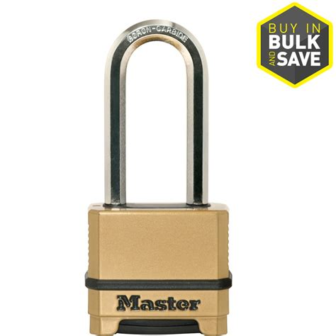 Brass Home Decor by Shop Master Lock 2 273 In Brass Shackle Combination