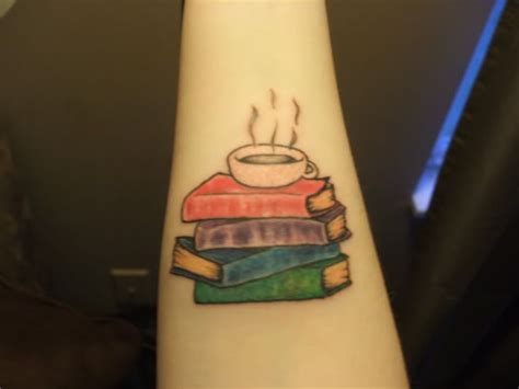 stack of books tattoo tattoos various a collection of other ideas to try