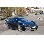 Porsche 718 Cayman GT4 Spy Photos Specs And Info By CAR