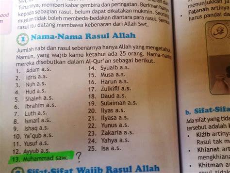 Buku Mencari Dan Mendapat heboh di medsos buku agama yang salah mengurutkan nama