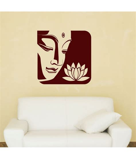 chipakk upmarket buddha wall sticker buy chipakk upmarket buddha wall sticker at best price in