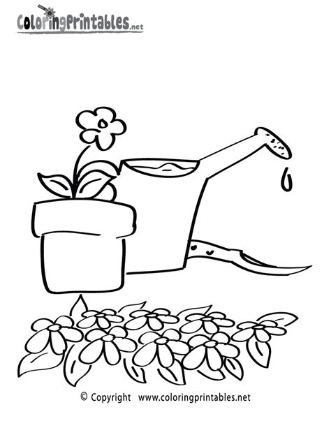 garden coloring pages free printable gardener free coloring pages