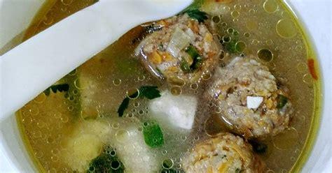 buat kuah bakso sederhana 29 resep mpasi kuah bakso enak dan sederhana cookpad