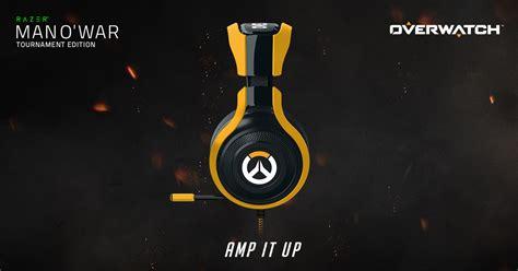 Razer Manowar overwatch razer o war tournament edition gaming headset