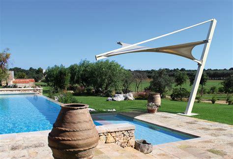 gazebo terrazzo gazebo in metallo per terrazzo e piscine modello vela