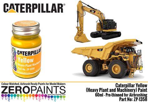 caterpillar yellow heavy plant  machinery paint ml zp   paints